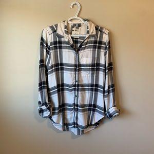 2/$30 AE Boyfriend Fit Flannel
